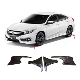 Honda Civic Modulo Body Kit ABS Plastic 4 Pieces - Model 2016-2018 -SehgalMotors.Pk