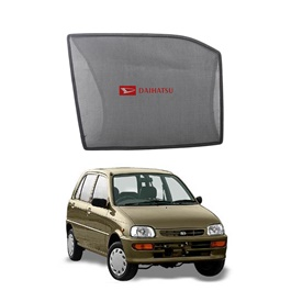 Daihatsu Cuore Side Sun Shades with Logo - Model 2002-2012-SehgalMotors.Pk
