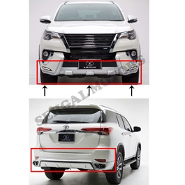 Toyota Fortuner Lx Mode Body Kit / Bodykit White- Model 2016-2019-SehgalMotors.Pk