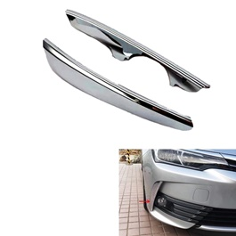 Toyota Corolla Front Bumper Chrome Trim - Model 2017-2019-SehgalMotors.Pk