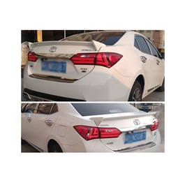 Toyota Corolla New Trunk spoiler - Model 2014-2021-SehgalMotors.Pk