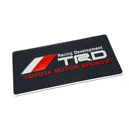 TRD Dashboard Non Slip / Anti-Skid Mat  | Dashboard Cleaner | Interior Cleaner Polish For Dashboard | Automobile Panel Dashboard Wax Cleaner-SehgalMotors.Pk