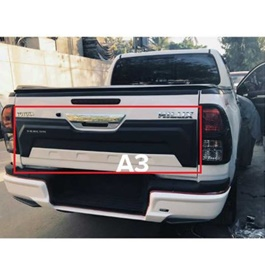 Toyota Hilux Revo Zercon Rear Tailgate Outer Lid Cover - Model 2016-2019-SehgalMotors.Pk