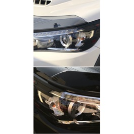 Toyota Hilux Revo Headlight Cover - Model 2016-2017