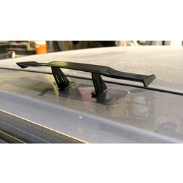 Small Mini Roof Fake Small Spoiler with Double Tape for Decoration Purpose-SehgalMotors.Pk