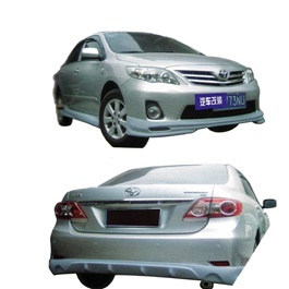 Toyota Corolla Small Body Kit / Bodykit 4 Pcs B Style Plastic PP - Model 2011-SehgalMotors.Pk