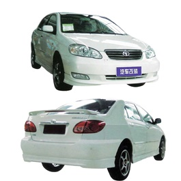 Toyota Corolla Small Body Kit 4 Pcs Plastic Pu & Frp - Model 2004-2009-SehgalMotors.Pk