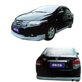 Honda City Small Body Kit / Bodykit B Style 4 Pcs Plastic PP - Model 2008-2011-SehgalMotors.Pk