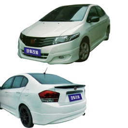 Honda City Small Body Kit / Bodykit C Style 4 Pcs Plastic PP - Model 2008-2011-SehgalMotors.Pk