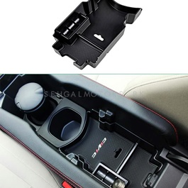 Honda Civic Arm Rest Storage Box - Model 2016-2019-SehgalMotors.Pk
