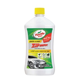 Turtle Zip Wax Shampoo - 473ML  | Car Shampoo | Car Cleaning Agent | Car Care Product | Glossy Touch Shampoo | Mirror Like Shine-SehgalMotors.Pk