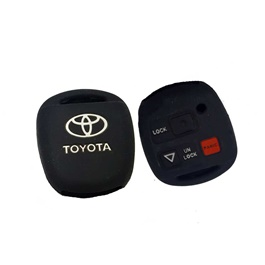 Toyota Corolla PVC / Silicone Protection Key Cover 3 Button - Model 2006-2008-SehgalMotors.Pk