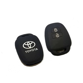 Toyota Corolla PVC Key Cover 2 Button-SehgalMotors.Pk