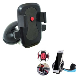 Mouth Mobile Holder Black -SehgalMotors.Pk
