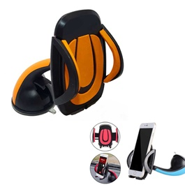 Mouth Mobile Holder Orange-SehgalMotors.Pk