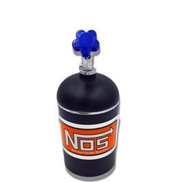 Car NOS Cylinder Can Portable Car Ashtray For Smokers Black-SehgalMotors.Pk