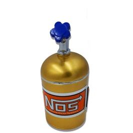 Car NOS Cylinder Can Portable Car Ashtray For Smokers Golden-SehgalMotors.Pk