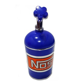 Nos Drum Can Ashtray Blue -SehgalMotors.Pk