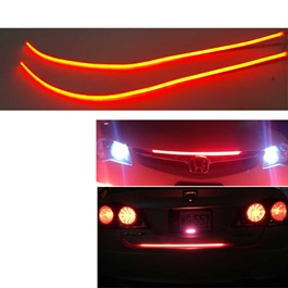 Flexible Devil Red Strip DRL - Pair-SehgalMotors.Pk