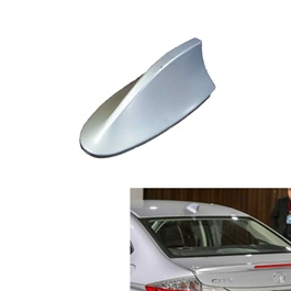 Honda City Ducktail Fin Antenna Silver-SehgalMotors.Pk