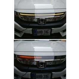 Honda Civic Hood Knight Rider Light Model - 2016-2019-SehgalMotors.Pk