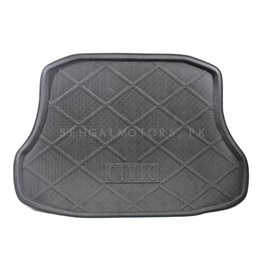 Honda Civic Foam Trunk Mats Black - Model 2016-2019-SehgalMotors.Pk