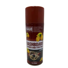 Mam Dashboard Leather and Tyre Wax Lemon	-SehgalMotors.Pk