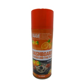 Mam Dashboard Leather and Tire Wax Orange-SehgalMotors.Pk