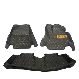 Toyota Corolla 7D Custom Fitted Floor Mat Black - Model 2014-2016-SehgalMotors.Pk