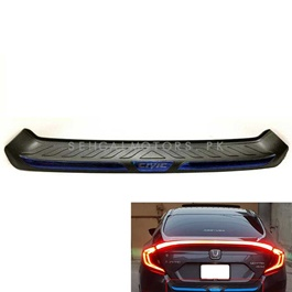 Honda Civic Trunk  Bumper Protector Black - Model 2016-2017-SehgalMotors.Pk