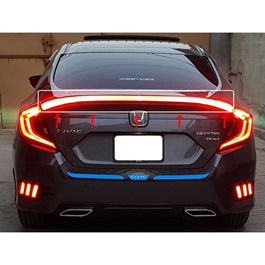 Honda Civic Complete LED Spoiler - Model 2016-2021-SehgalMotors.Pk