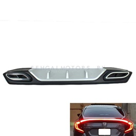 Honda Civic Bumper Diffuser Mercedes Style - Model 2016-2019