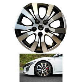 Wheel Cover ABS Black And Silver 14 inches - WA4-1SL-14	-SehgalMotors.Pk