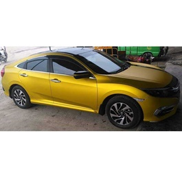 Golden Matte Wrap Per Sq Ft - M2815  | Car Vinyl Wrap Film | Car Wrapping | Vehicle Wrap-SehgalMotors.PK