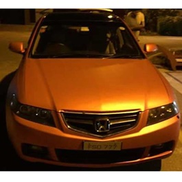 Rust Orange Wrap Per Sq Ft	-SehgalMotors.Pk