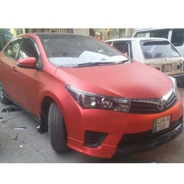 Crimson Red Wrap Per Sq Ft | Car Vinyl Wrap Film | Car Wrapping | Vehicle Wrap-SehgalMotors.Pk
