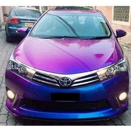 Neon Purple Blue Wrap Per Sq Ft	- C8206 | Car Vinyl Wrap Film | Car Wrapping | Vehicle Wrap-SehgalMotors.Pk