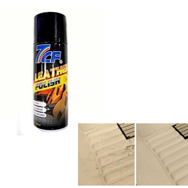 7cF Dashboard Leather Polish Wax 400ml -SehgalMotors.Pk