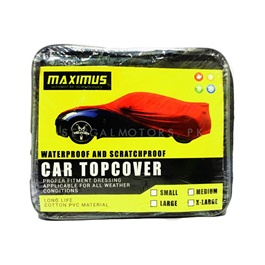 Maximus XXL Non Woven Scratchproof Waterproof Top Cover -SehgalMotors.Pk