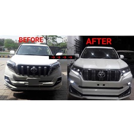 Toyota Prado Conversion Kit Japan to Model 2018-SehgalMotors.Pk