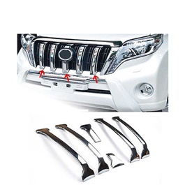 Toyota Land Cruiser FJ150 Front Grille Black Chrome Style A- Model 2008-2017-SehgalMotors.Pk