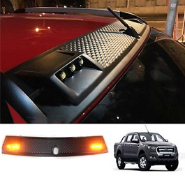 Toyota Hilux DRL Led Cap Front Roof Spoiler - Model 2016-2017-SehgalMotors.Pk