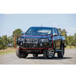 Toyota Hilux Revo Ironman Front Bumper Version 1 - Model 2016-2017