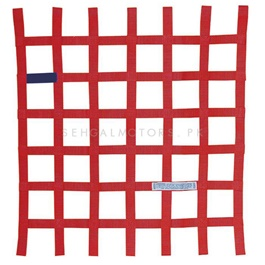 Safety Car Window Net Red-SehgalMotors.Pk