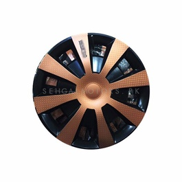 Bronze Wheel Cups / Wheel Covers - 15 inches | Tire Wheel Cover | Wheel Center Cover | Wheel Decoration Item-SehgalMotors.Pk