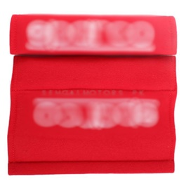 Seat Belt Covers Red