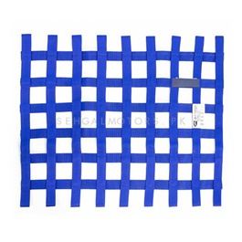 Safety Car Window Net Racing Drifting Rally Car Window Net Protector Blue-SehgalMotors.Pk