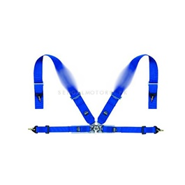Seatbelts Blue 4 Points-SehgalMotors.Pk