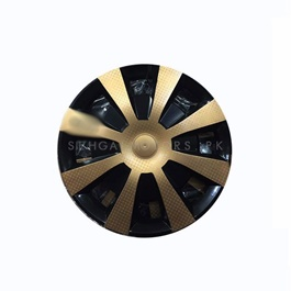 Gold Wheel Cups / Wheel Covers - 15 inches | Tire Wheel Cover | Wheel Center Cover | Wheel Decoration Item-SehgalMotors.Pk