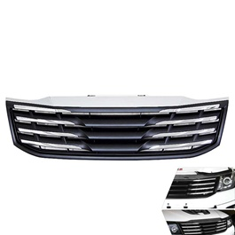 Toyota Hilux Vigo Champ Chrome Black grille - Model 2005-2016-SehgalMotors.Pk